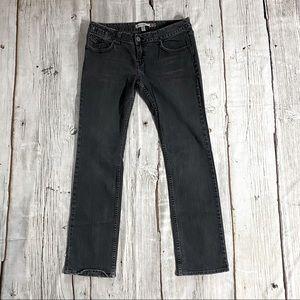 Aeropostale Black Denim Jeans